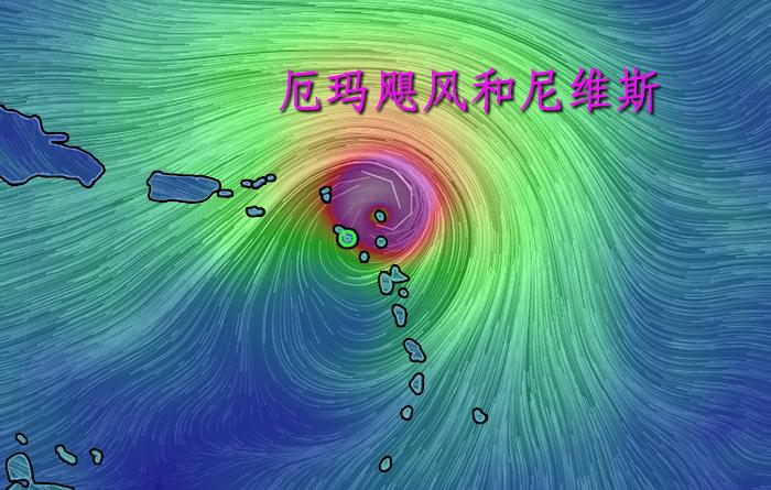 厄玛飓风和尼维斯