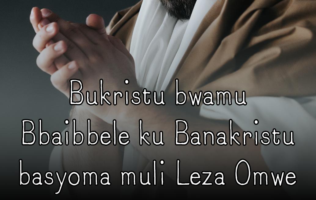 Bukristu bwamu Bbaibbele ku Banakristu basyoma muli Leza Omwe