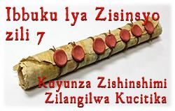 Ibbuku lya Zisinsyo zili 7: Kuyunza Zishinshimi Zilangilwa Kucitika