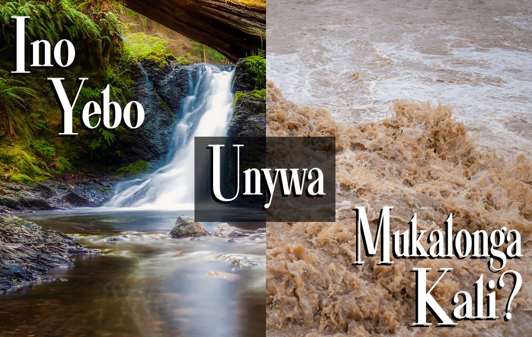 Ino Yebo Unywa Mukalonga Kali?