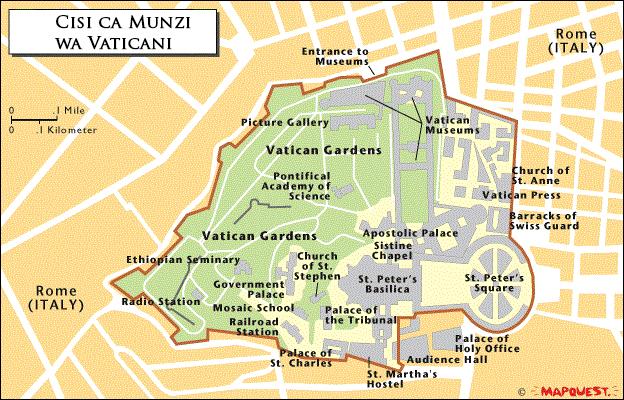 Cisi ca Munzi wa Vaticani