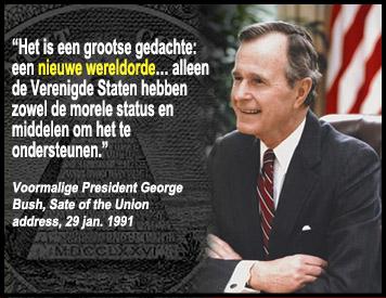 new world order - george bush