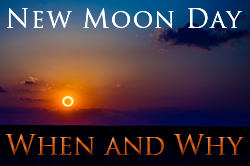 New Moon Day: When & Why eCourse