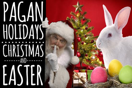Pagan Holidays: Christmas & Easter eCourse Poster