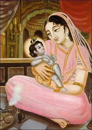 dark skin Krishna (Nimrod)