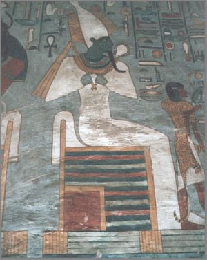 Osiris (dark-skin Nimrod)