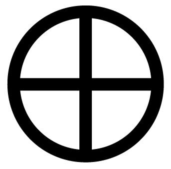 Paganism Earth Symbol