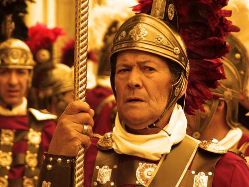 جندي روماني