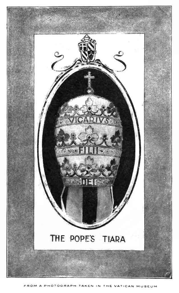 pope's tiara - vicarivs filii dei - 666