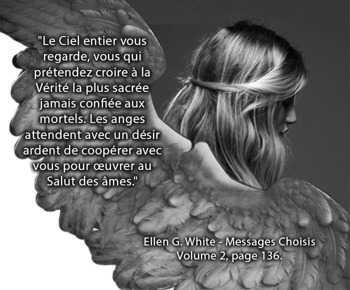 Tout le Ciel te regarde; Ellen G. White, Messages Choisis, Volume 2