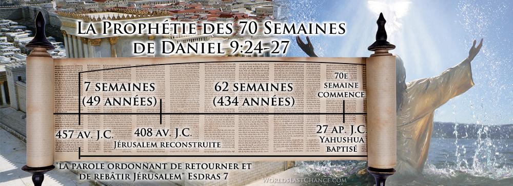 La prophétie des 70 semaines de Daniel 9:24-27 b