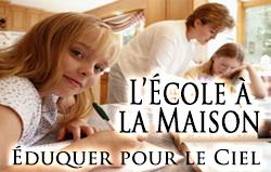 L'École à la Maison: Éduquer pour le Paradis