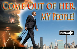 Image result for come out of her my people