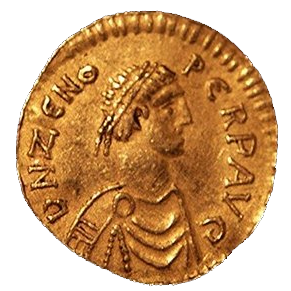 Gold tremissis of emperor Zeno (474-491)