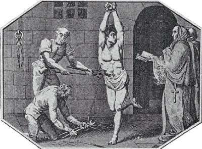 papal inquisition - torture