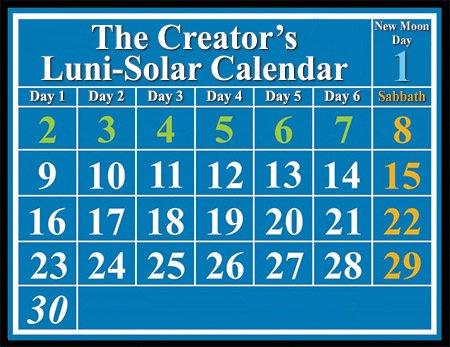 Biblical Luni-Solar Calendar
