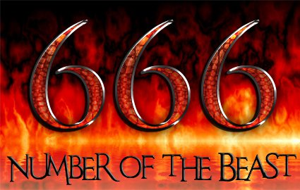 666 = Number of the Beast