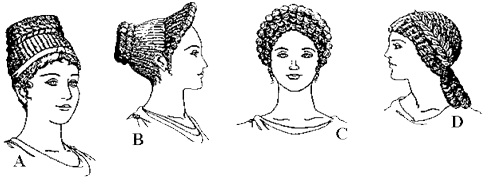 Ancient Roman Hairstyles for wealthy women