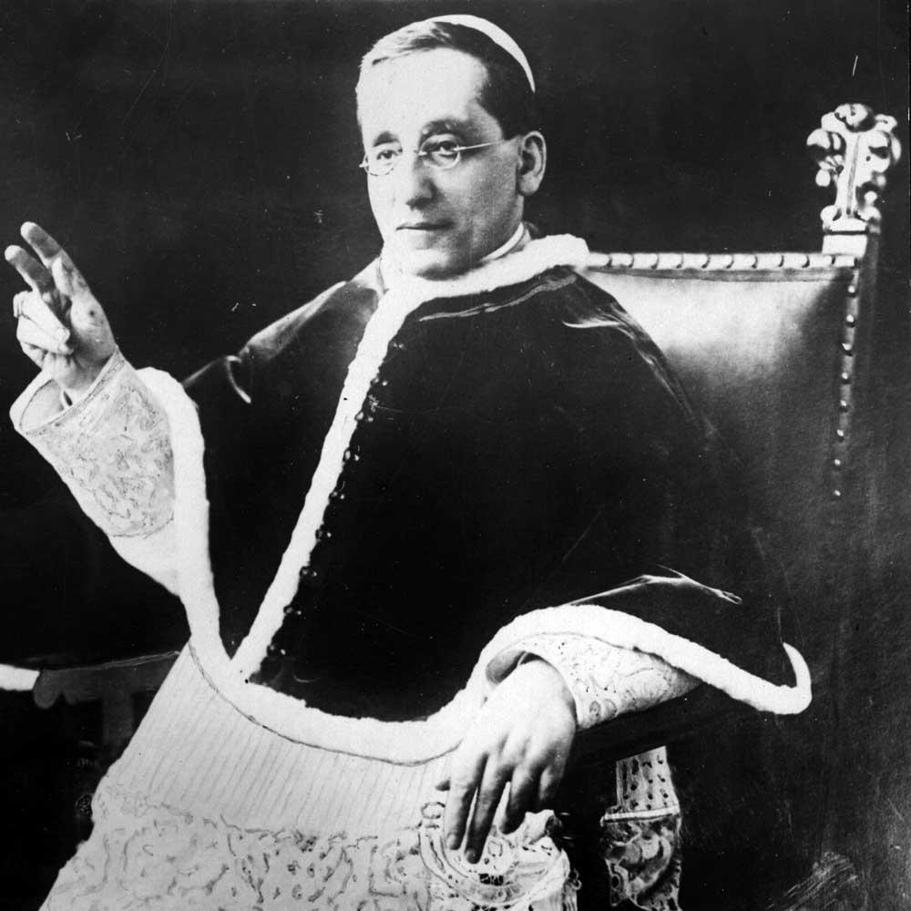 El Papa Benedicto XV