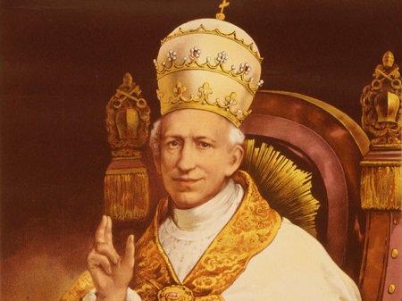 El Papa León XIII