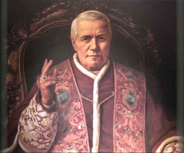 El Papa San Pío X