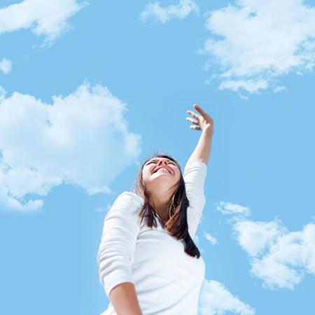Rejoicing Woman