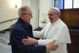 Father General Nicolás  meets with Pope Francis