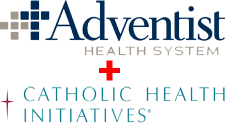 Adventist Health System and Catholic Health Initiatives