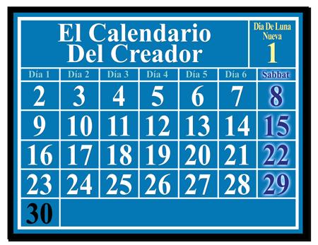 El Calendario Del Creador