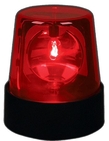红色闪烁灯
