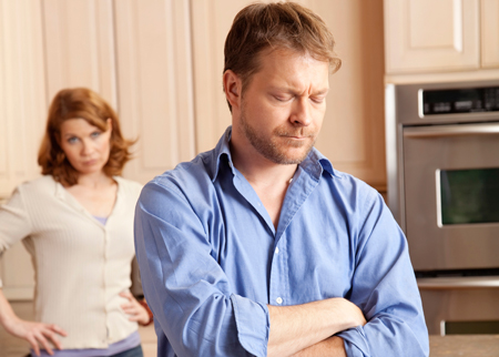 couple en rupture; divorce