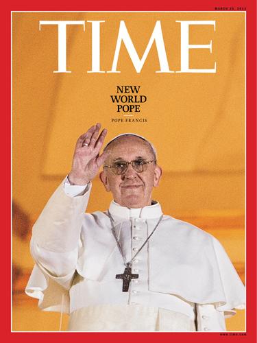 Påven Frans I © Time Magazine