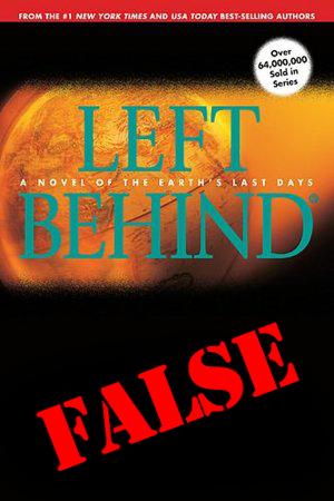 Left Behind bokomslag