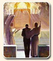 salvación - diez mandamientos en el lugar santísimo