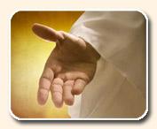 la mano del salvador
