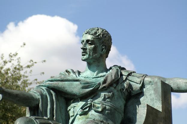 El emperador Constantino el Grande de Roma