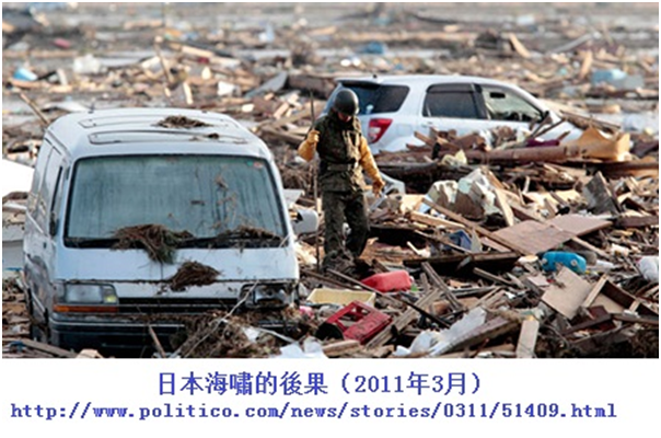 日本海嘯災後問題(2011年3月)