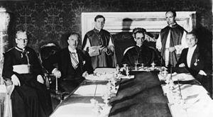 Conexión del Vaticano con los nazis