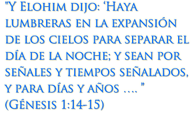 Génesis 1:14-15
