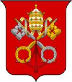 escudo de armas del vaticano
