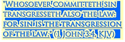 1 John 3:4