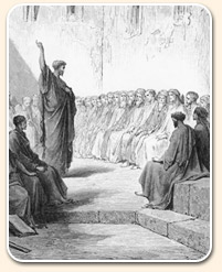 sobota - paul kázání na zástup