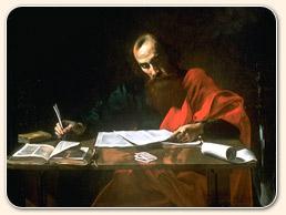 paul psaní epištoly