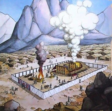 Tabernáculo en el desierto