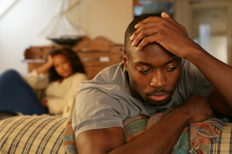 Troubled African American Couple