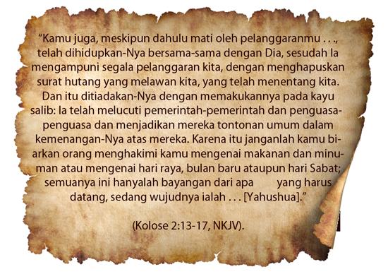 kolose 2:13-17