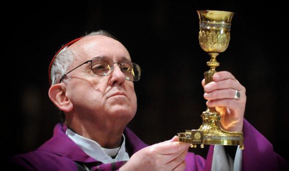 Jesuïete Pous Francis ek