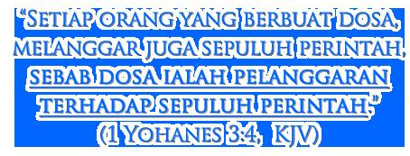 1 Yohanes 3:4