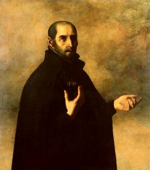 Ignatius Loyola - Pendiri Jesuit - oleh Francisco Zurbaran