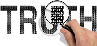 waarheid gemeng met leuens